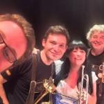 Trumpet section selfie!