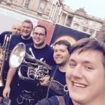 Lower brass selfie!